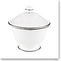 Lenox Continental Dining Platinum Dinnerware Sugar With Lid