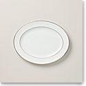 Lenox Continental Dining Gold Oval Platter 16