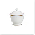 Lenox Continental Dining Gold Sugar With Lid