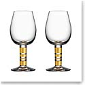 Orrefors Crystal, Morberg Exclusive Crystal Red Wine, Pair