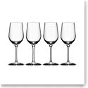 Orrefors Crystal, Morberg Crystal White Wine, Set of Four