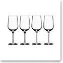 Orrefors Crystal, Morberg Crystal Red Wine, Set of Four