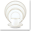 Lenox Continental Dining Gold 5 Piece Place Setting