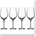 Orrefors Crystal, More Crystal Wine Glass, Set of Four