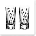 Orrefors City Shot Glasses, Pair