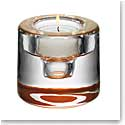 Orrefors Crystal, Shine Crystal Votive, Copper