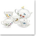 Lenox Butterfly Meadow Dinnerware 9 Piece Tea Set