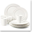 Lenox Tin Alley Dinnerware 4 Degree 12 Piece Set