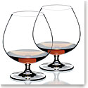 Riedel Vinum, Brandy Crystal Glasses, Pair