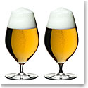 Riedel Veritas Beer Glasses, Pair