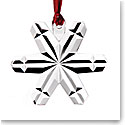 Orrefors Crystal, 2019 Christmas Ornament, Snowflake