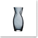 """Orrefors Squeeze 9"""" Vase Blue Small"""