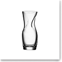 """Orrefors Squeeze 9"""" Vase Clear Small"""