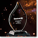 Crystal Blanc, Personalize! Flame Award, Large