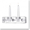 Orrefors Crystal, Torg Long Crystal Candleholder, Single