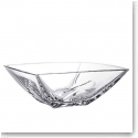 "Orrefors Crystal, Cathedral 10"" Crystal Bowl"