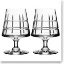 Orrefors Crystal, Street Cognac Crystal Glasses, Pair