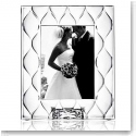 "Orrefors Crystal, Diamond 5x7"" Picture Frame"