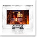 "Orrefors Crystal, Wave 4x6"" Picture Frame"