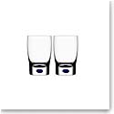 Orrefors Intermezzo Blue Small Tumbler, Pair