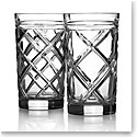 Ralph Lauren Brogan Classic Crystal Hiball, Pair