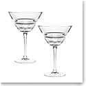 Ralph Lauren Broughton Crystal Martini Glass, Single