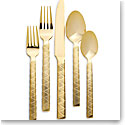 Ralph Lauren Flatware Cairo 5 Piece Place Setting, Gold