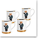 Ralph Lauren Thompson Set of Four Mugs