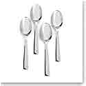 Ralph Lauren Academy Set of Four Demitasse Spoons, Silver