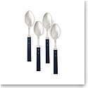 Ralph Lauren Ronan Set of 4 Cafe Spoons, Navy