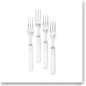 Ralph Lauren Ronan Set of 4 Appetizer Forks, White