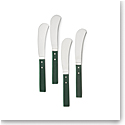 Ralph Lauren Ronan Set of 4 Cheese Spreaders, Green