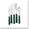 Ralph Lauren Flatware Ronan 5 Piece Place Setting, Green