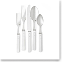 Ralph Lauren Flatware Ronan 5 Piece Place Setting, White