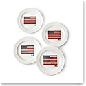 Ralph Lauren China Bradfield Dessert Plate, Set of 4