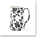 Ralph Lauren China Garden Vine Tankard Pitcher, Black