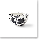 Ralph Lauren China Garden Vine Ice Cream Bowl, Black