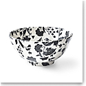Ralph Lauren China Garden Vine Large Footed Bowl, Black