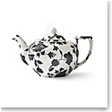 Ralph Lauren China Garden Vine Teapot, Black