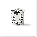 Ralph Lauren Garden Vine Sugar Pot, Black
