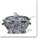 Ralph Lauren Faded Peony Soup Tureen, Indigo