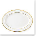 Ralph Lauren China Wilshire Gold Oval Platter, Single