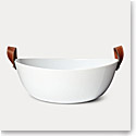 Ralph Lauren China Wyatt Salad Bowl, Saddle