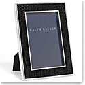 "Ralph Lauren Chapman Black 4x6"" Frame"