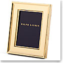 "Ralph Lauren Cove 5x7"" Frame, Gold"