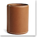 Ralph Lauren Brennan Pencil Cup, Saddle