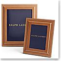 "Ralph Lauren Brennan Saddle 8x10"" Frame"