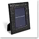 """Ralph Lauren Adrienne 5""""x7"""" Picture Frame, Black"""
