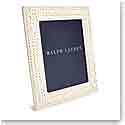 """Ralph Lauren Adrienne 8""""x10"""" Picture Frame, Cream"""