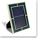 """Ralph Lauren Classon 5""""x7"""" Frame, Green"""